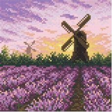 Алмазная мозаика Очарование Прованса, 20x20, полная выкладка, Brilliart (МП-Студия)