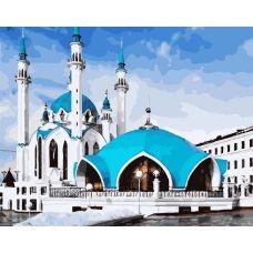 Живопись по номерам Казанская мечеть, 40x50, Paintboy, GX25043