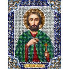 Набор для вышивания бисером СвятойАнатолий, 14x18, Паутинка