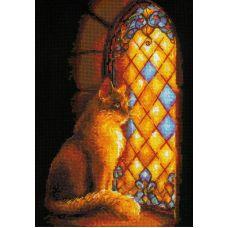 Набор для вышивания крестом Хранительница замка, 21x30, Риолис, Сотвори сама