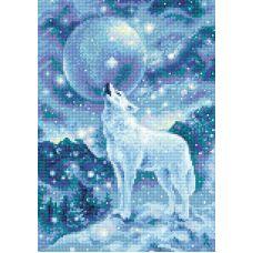 Алмазная мозаика Ледяной ветер, 27x38, полная выкладка, Риолис