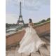 Живопись по номерам Свадьба в Париже, 40x50, Hobruk, U8066