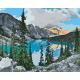 Живопись по номерам Озеро в горах, 40x50, Hobruk, U8119