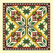 Набор для вышивания крестом Мираж, 41x41 (34x34), Матренин посад