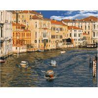 Живопись по номерам Город на воде, 40x50, Paintboy, GX39389