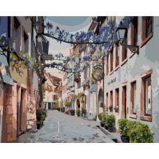 Живопись по номерам Узкая улочка, 40x50, Paintboy, GX39531