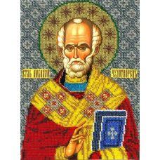Набор для вышивания Святой Николай Чудотворец, 19x25, Вышиваем бисером