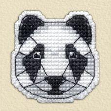 Набор для вышивания крестом Значок-Панда, 4,4x4,5, Овен
