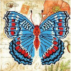 Канва с рисунком Бабочка 2, 25x25, Божья коровка