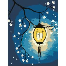 Живопись по номерам Весенний фонарик, 30x40, Hobruk, HS3027