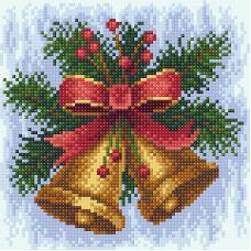 Алмазная мозаика Новогодняя мелодия, 20x20, полная выкладка, Brilliart (МП-Студия)