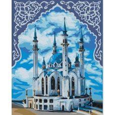 Живопись по номерам Мечеть Кул Шариф в орнаменте, 40x50, Paintboy, GX22289