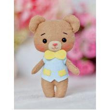 Набор для шитья куклы Медвежонок Тиша, 14 ,Тутти