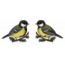 Набор для вышивания крестом на пластиковой основе Предвестница весны, 10x13, Жар-Птица (МП-Студия)