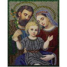 Алмазная вышивка термостразами Святое Семейство, Преобрана