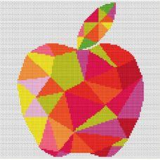 Набор для вышивания крестом Спелое яблоко, 17,2x21,2, Тутти