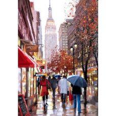 Живопись по номерам Дождь в городе, 40x50, Paintboy, GX26765