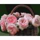 Живопись по номерам Розовые розы, 40x50, Hobruk, HS1301