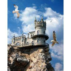 Живопись по номерам Ласточкино гнездо. Крым, 40x50, Paintboy, GX27419