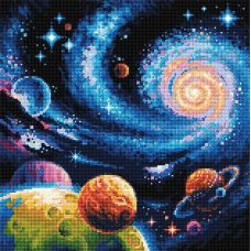 Алмазная мозаика Иные миры, 40x40, полная выкладка, Риолис