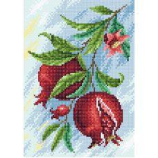 Алмазная мозаика Гранат, 19x27, полная выкладка, Brilliart (МП-Студия)