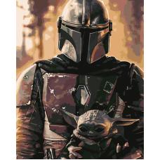 Живопись по номерам Звёздные войны, 40x50, Hobruk, HS1168