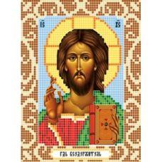 Канва с рисунком Господь Вседержитель, 12x16, Божья коровка