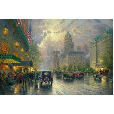Живопись по номерам Осенний Нью-Йорк, 40x50, Paintboy, GX37250