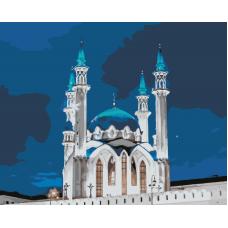 Живопись по номерам Кул-Шариф ночь, 40x50, Hobruk, HS0284