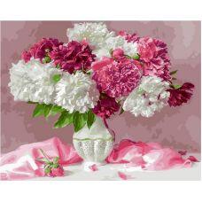 Живопись по номерам Розовый натюрморт, 40x50, Paintboy, GX25351