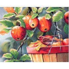 Рисунок на габардине Богатый урожай, 40x50 (28x35), МП-Студия, Г-014