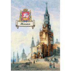 Набор для вышивания крестом Города России, 21x30, Риолис, Сотвори сама