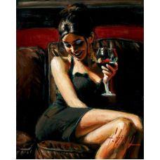 Живопись по номерам Роковая женщина, 40x50, Paintboy, GX23593