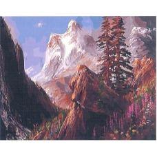 Живопись по номерам Снежный хребет, 40x50, Paintboy, GX31643