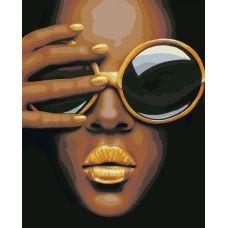 Живопись по номерам Черные очки, 40x50, Hobruk, U8087