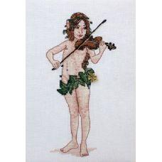 Набор для вышивания крестом Чудесная скрипка, 9x18, НеоКрафт