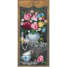 Набор для вышивания крестом Уютный уголок, 19x40, Риолис, Сотвори сама