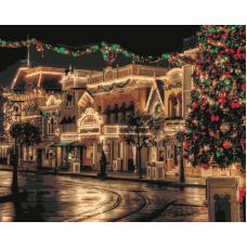 Живопись по номерам Рождество, 40x50, Hobruk, HS0287
