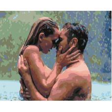 Живопись по номерам Дождевая романтика, 40x50, Hobruk, CM0017