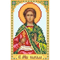 Рисунок на шелке Святая Надежда, 22x25 (9x14), Матренин посад