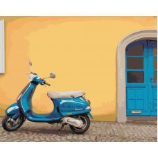 Живопись по номерам На улочках Италии, 40x50, Hobruk, HS0045