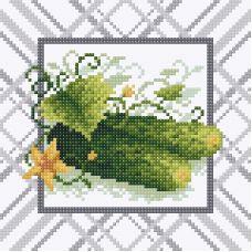 Алмазная мозаика Только с грядки, 20x20, полная выкладка, Brilliart (МП-Студия)