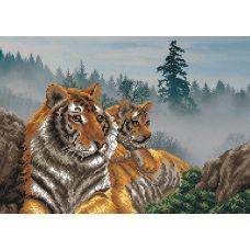Набор для вышивания бисером Утро в тигровой пади, 37x49 (28x39), Матренин посад