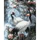 Живопись по номерам Журавли, 40x50, Hobruk, U8065