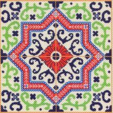 Набор для вышивания крестом Ажур, 41x41 (34x34), Матренин посад