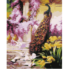Живопись по номерам Сказочный сад, 40x50, Hobruk, CM0033