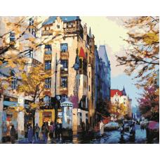 Живопись по номерам В городе, 40x50, Hobruk, HS0231