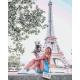 Живопись по номерам Летний Париж, 40x50, Hobruk, U8020
