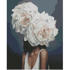 Живопись по номерам Белая красота, 40x50, Hobruk, CM0076
