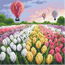 Алмазная мозаика Вечер в Голландии, 20x20, полная выкладка, Brilliart (МП-Студия)